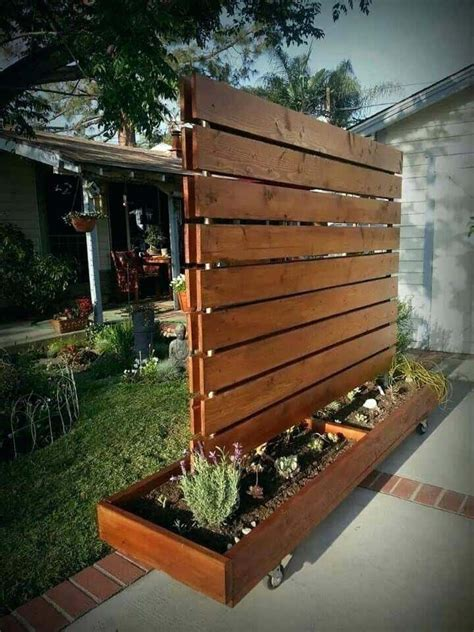 Diy Privacy Screen Plans