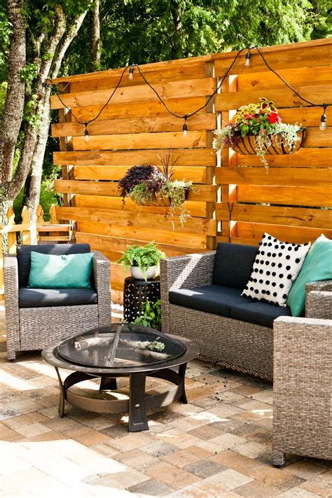 Diy Privacy Wall Added To Deck