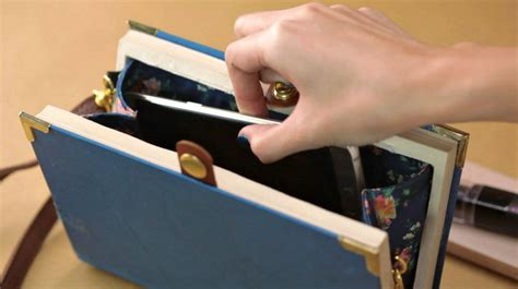 Diy Projects Book Clutch