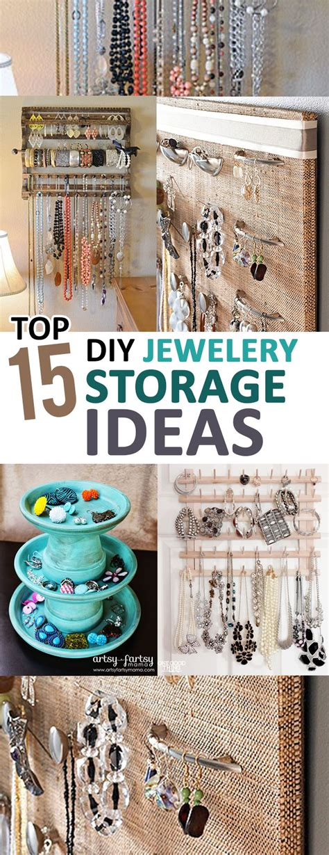 Diy Projects For Jewelry Storage