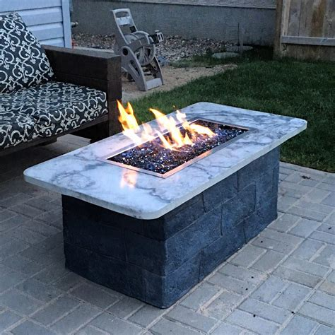 Diy Projects Gas Fire Pit Table