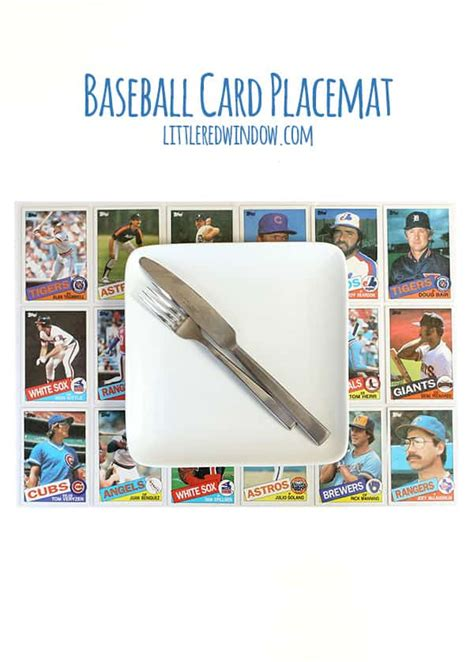 Diy Projects With Baseball Cards