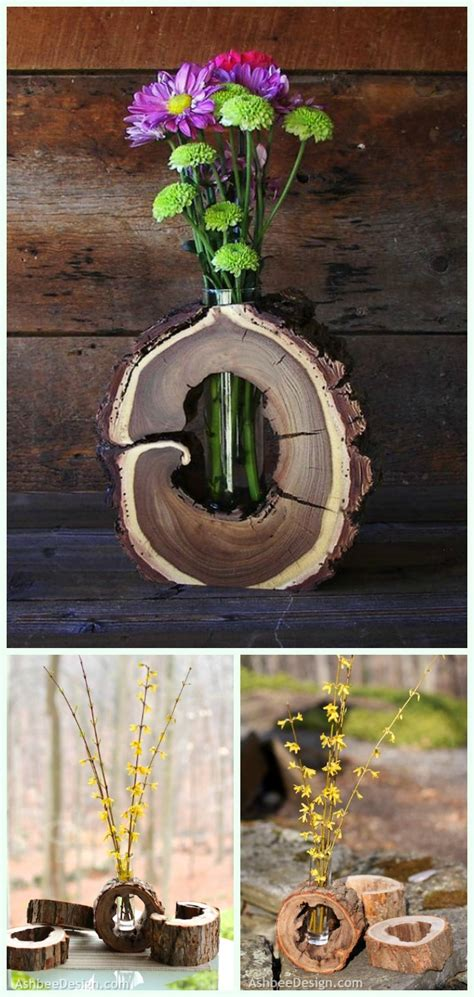 Diy Projects With Wood Logs