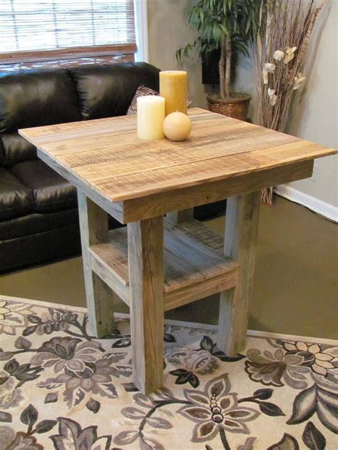 Diy Pub Height Table Dimensions