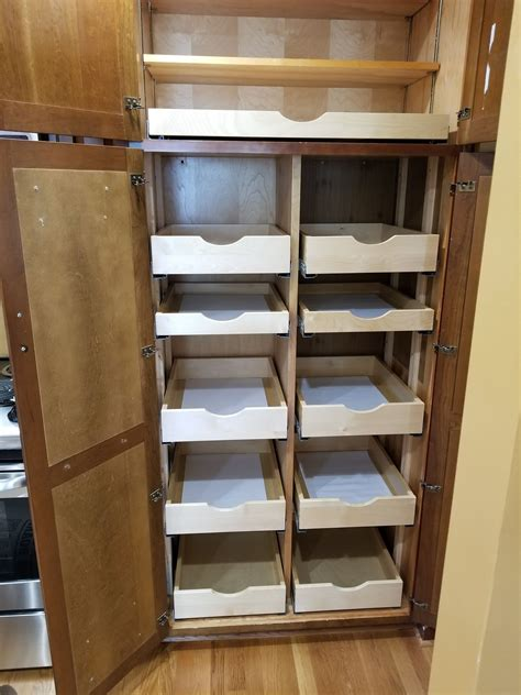 Diy Pull Out Pantry Shelves Laundry