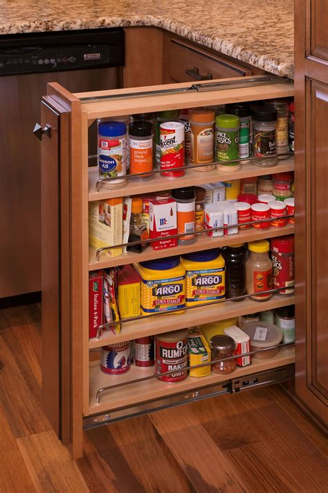 Diy Pull Out Spice Rack Plans