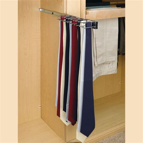 Diy Pull Out Tie Rack