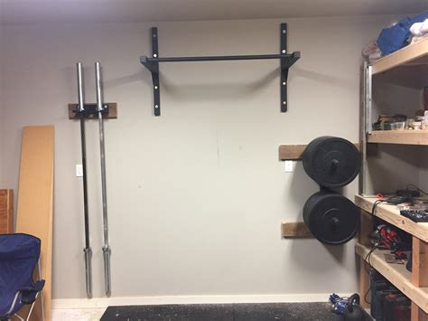 Diy Pull Up Bar For Wall
