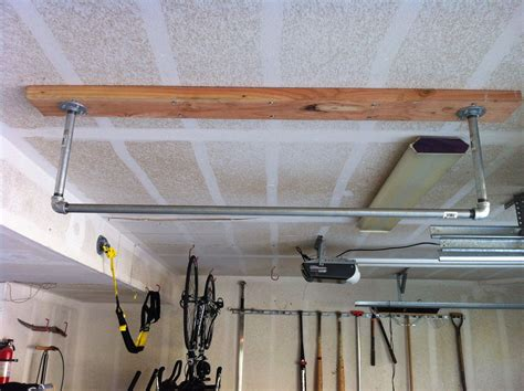 Diy Pull Up Bar Garage