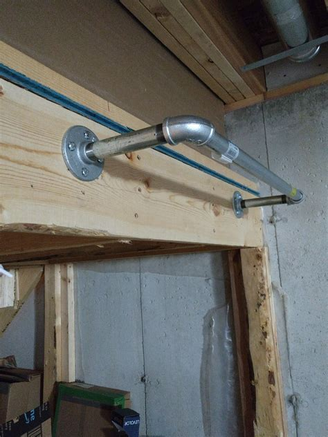 Diy Pull Up Bar Steel Pipes
