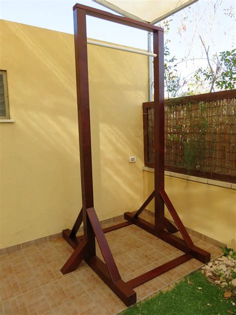 Diy Pull Up Bar Wood
