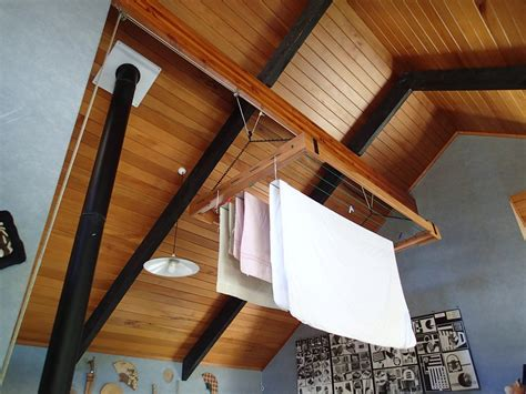Diy Pulley Drying Rack