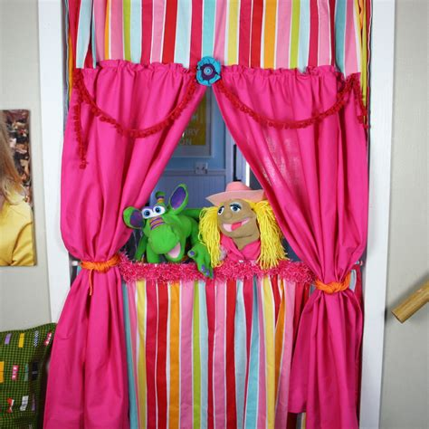 Diy Puppet Show Curtain