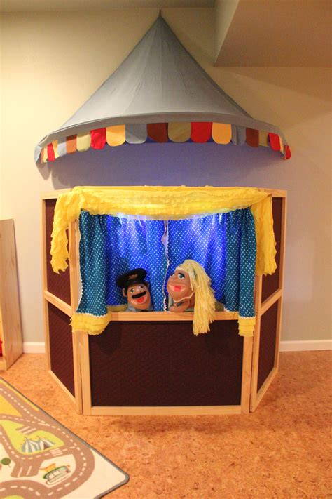 Diy Puppet Show Theater For Kids