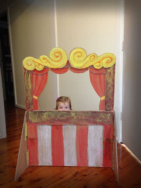 Diy Puppet Theater Craft 1 Week