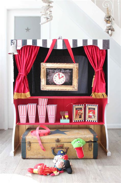 Diy Puppet Theater From A Dresser