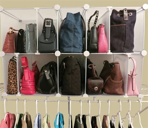 Diy Purse Storage Organizer