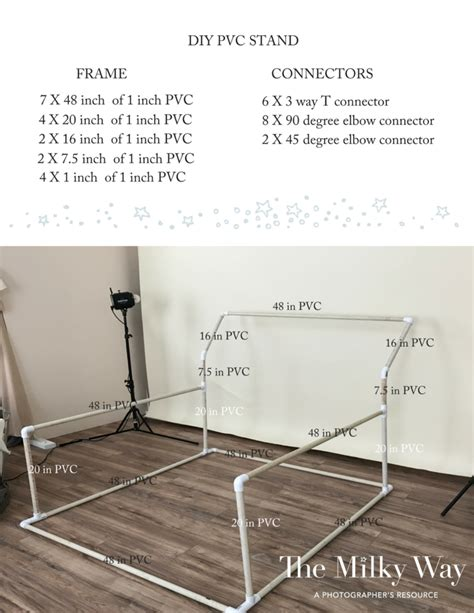 Diy Pvc Baby Backdrop Stand