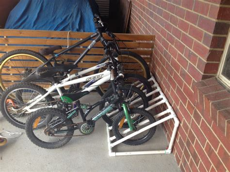 Diy Pvc Bicycle Rack