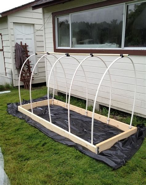 Diy Pvc Cover For Raised Bed