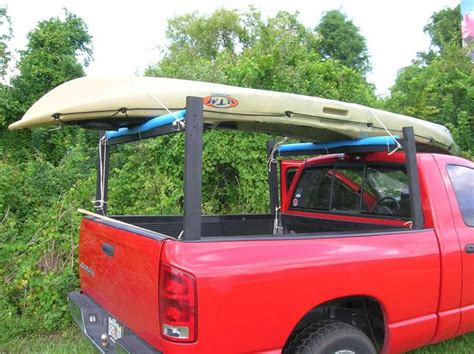 Diy Pvc Kayak Racks For Tacoma Truck