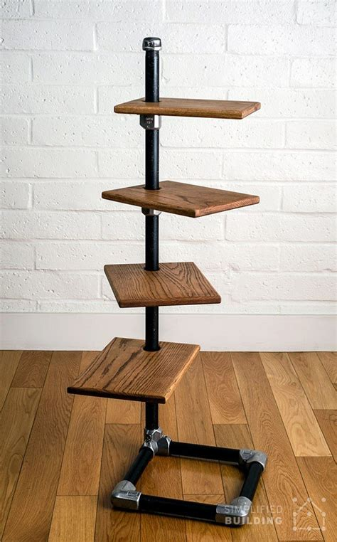 Diy Pvc Pipe Shelves Freestanding