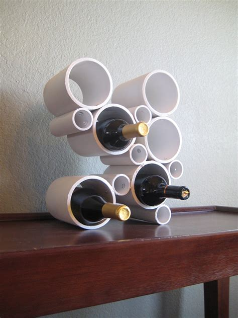 Diy Pvc Pipe Wine Rack