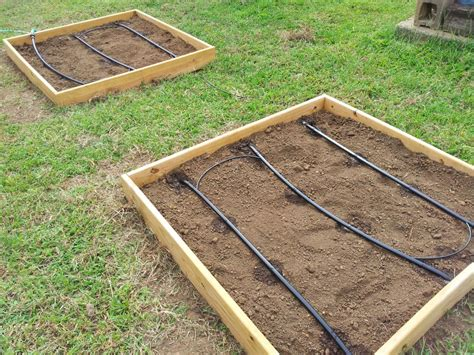Diy Pvc Raised Bed Irrigation