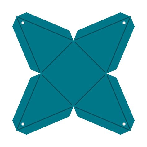 Diy Pyramid Favor Box