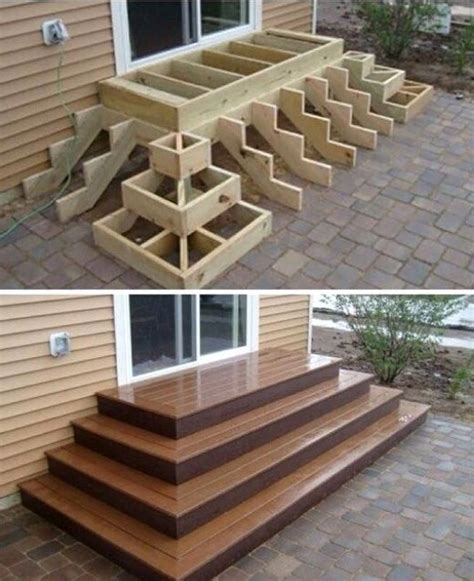Diy Pyramid Steps For Patio