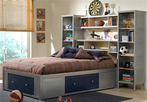 Diy Queen Bed Frame Bookcase