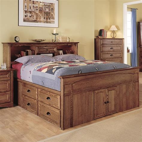 Diy Queen Size Bed With Drawers