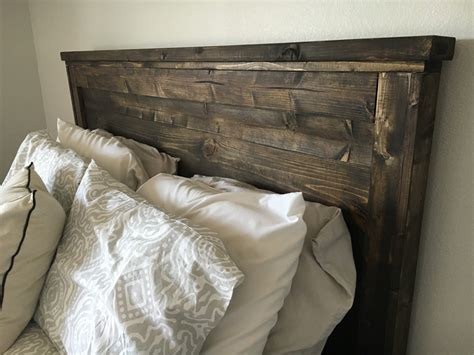 Diy Queen Wood Headboard Ana White