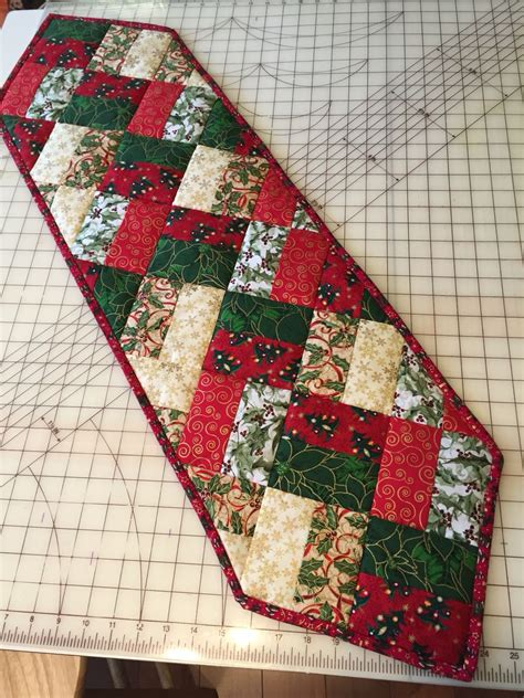 Diy Quilted Table Runner Patterns To Sew