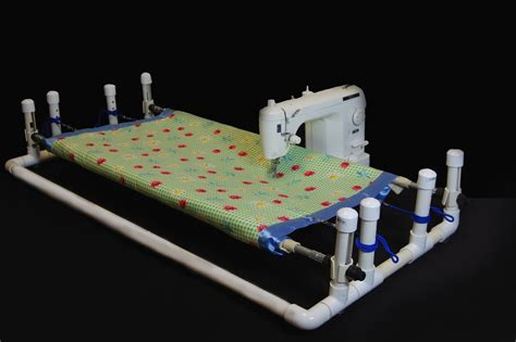 Diy Quilting Frame For Sewing Machine Plans Pvc