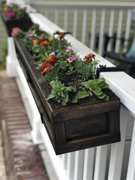 Diy Railing Planter Box