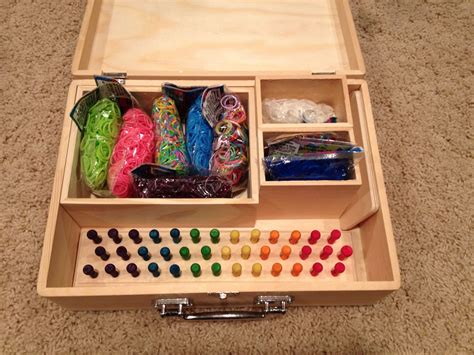 Diy Rainbow Loom Storage Container