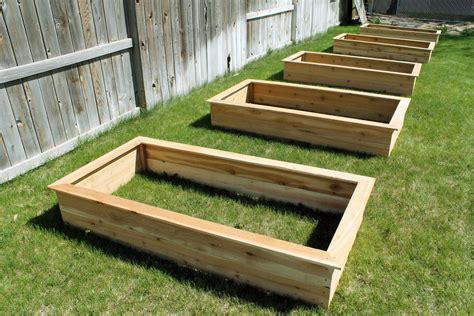 Diy Raised Bed Boxes