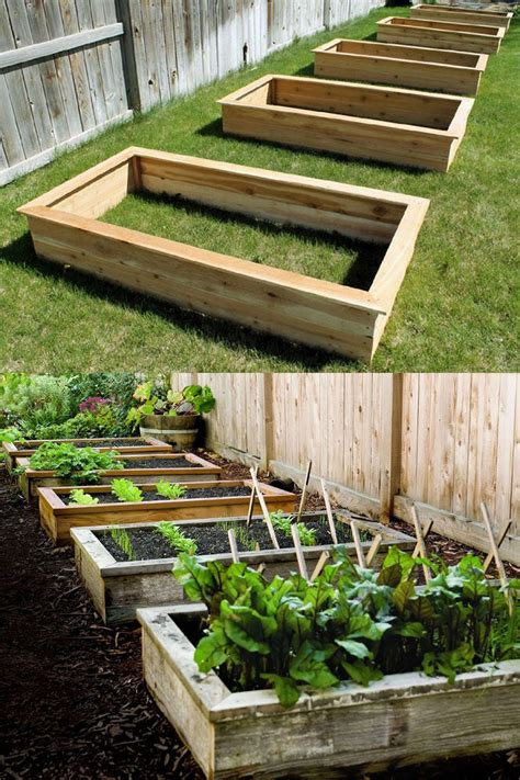Diy Raised Bed Garden Easy Coloring