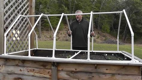 Diy Raised Bed With Greenhouse Effect