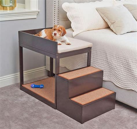 Diy Raised Dog Bed Beside Your Bed