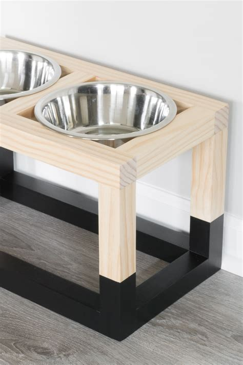 Diy Raised Dog Feeder Plans
