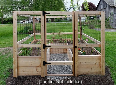 Diy Raised Garden Bed Deer Proof Plants