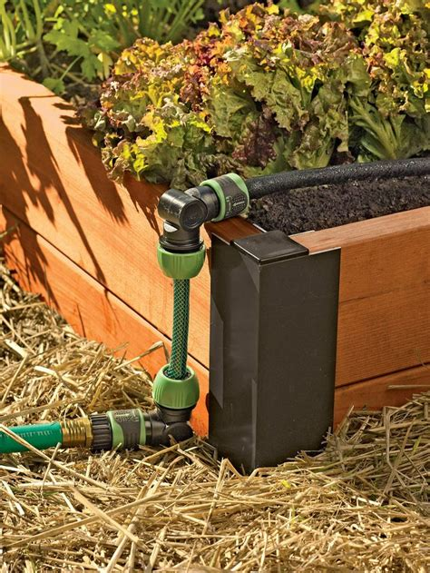 Diy Raised Garden Bed Irrigation Kit