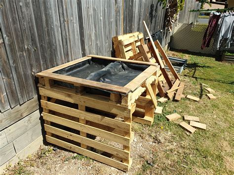 Diy Raised Garden Bed With Legs Pallets