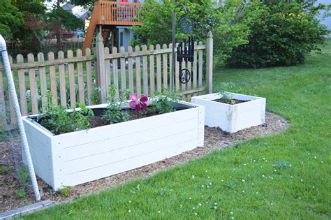 Diy Raised Garden Beds With Fence