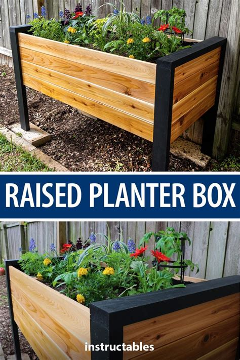 Diy Raised Garden Boxes Instructions