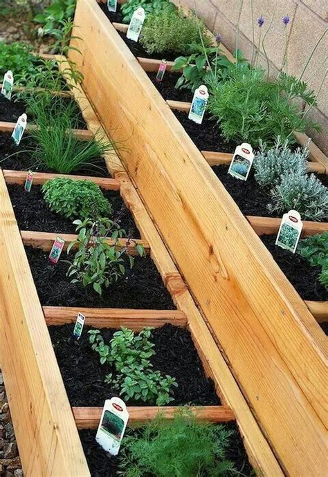 Diy Raised Herb Garden Bed