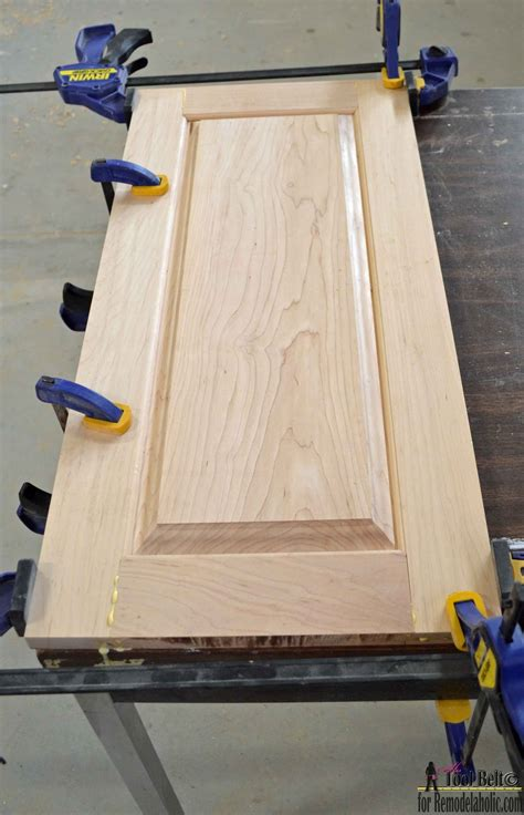 Diy Raised Panel To Cabinet Door Without Router