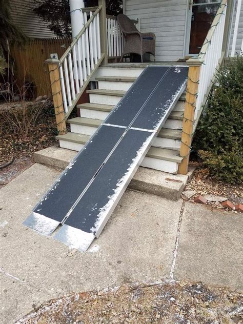 Diy Ramp For Stairs
